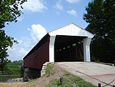 Covered Bridge on Eldean Road, Concord Township, Ohio